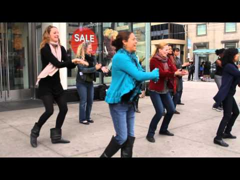 Toronto Flamenco Flash Mob October 5, 2014