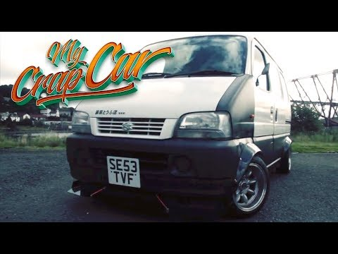 MY CRAP CAR - Suzuki Carry Mini JDM Drift Van
