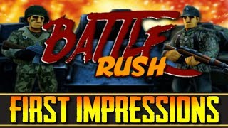 "BattleRush (Early Access) - ""The WWII Walking Simulator!"" - (First Impressions)"