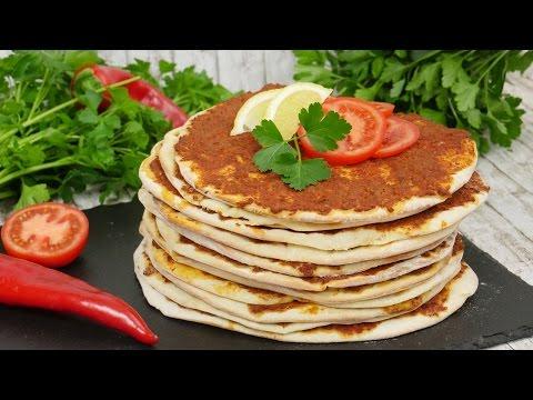Lahmacun Rezept I Türkische Pizza I Türkische Woche Teil 4