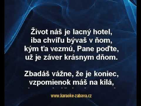Pavol Habera - Boli sme raz milovaní (karaoke z www.karaoke-zabava.cz)