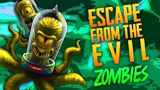 Escape From The Evil Zombies (Call of Duty Zombies)