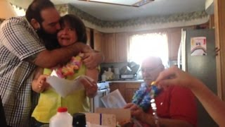 Son Surprises Parents with All Expenses Paid Trip to Hawaii