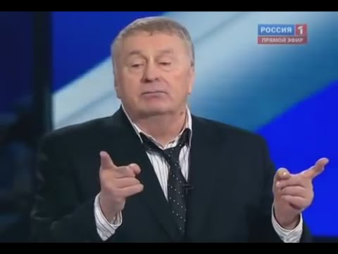 Russian politics. Elections 2012 debate. Zhirinovsky vs Prokhorov. (English subs)