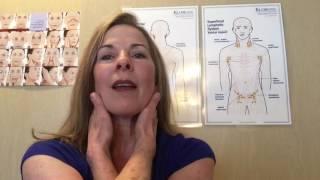 Self Lymphatic Neck Massage