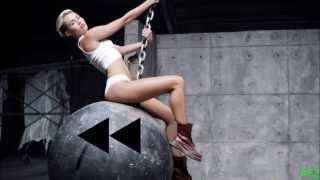 Miley Cyrus - Wrecking Ball [Backward] [Rückwärts] [HD+]