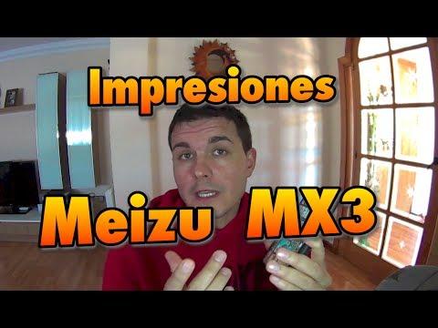 Impresiones del Meizu MX3
