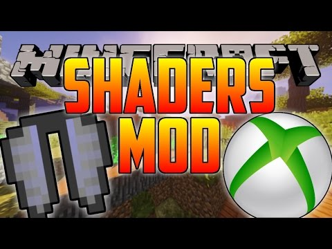 Minecraft SHADERS MOD/GLIDING on Xbox One!?!? (PS4, PS3, XBOX 360, PC)