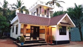 Cute Modern House 800 Sft Budget 5 Lakh | Elevation | Interiors