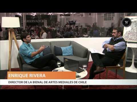 Enrique Rivera, realizador audiovisual y gestor cultural chileno.