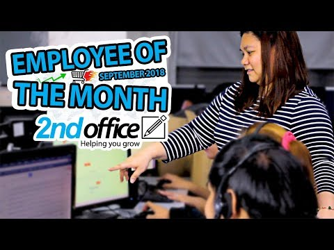 eCommerce Outsourcing - 2ndoffice Employee of the month