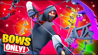 The Bow ONLY Challenge in Fortnite!
