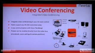 Знакомство с системами управления аудио-видео комплексами Neets