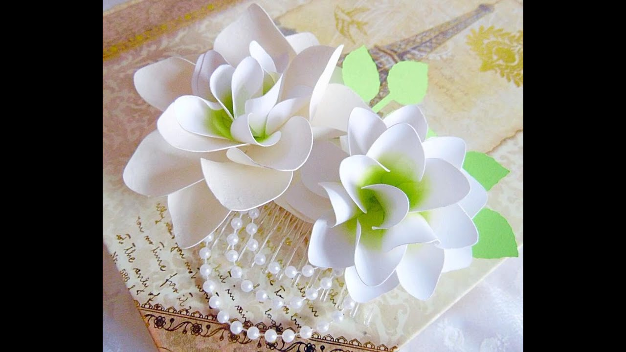 White Paper Flower Elitadearest