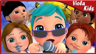 La chanson du policier - Comptines pour bébé en francais - Viola Kids chanson  LE Français [HD]