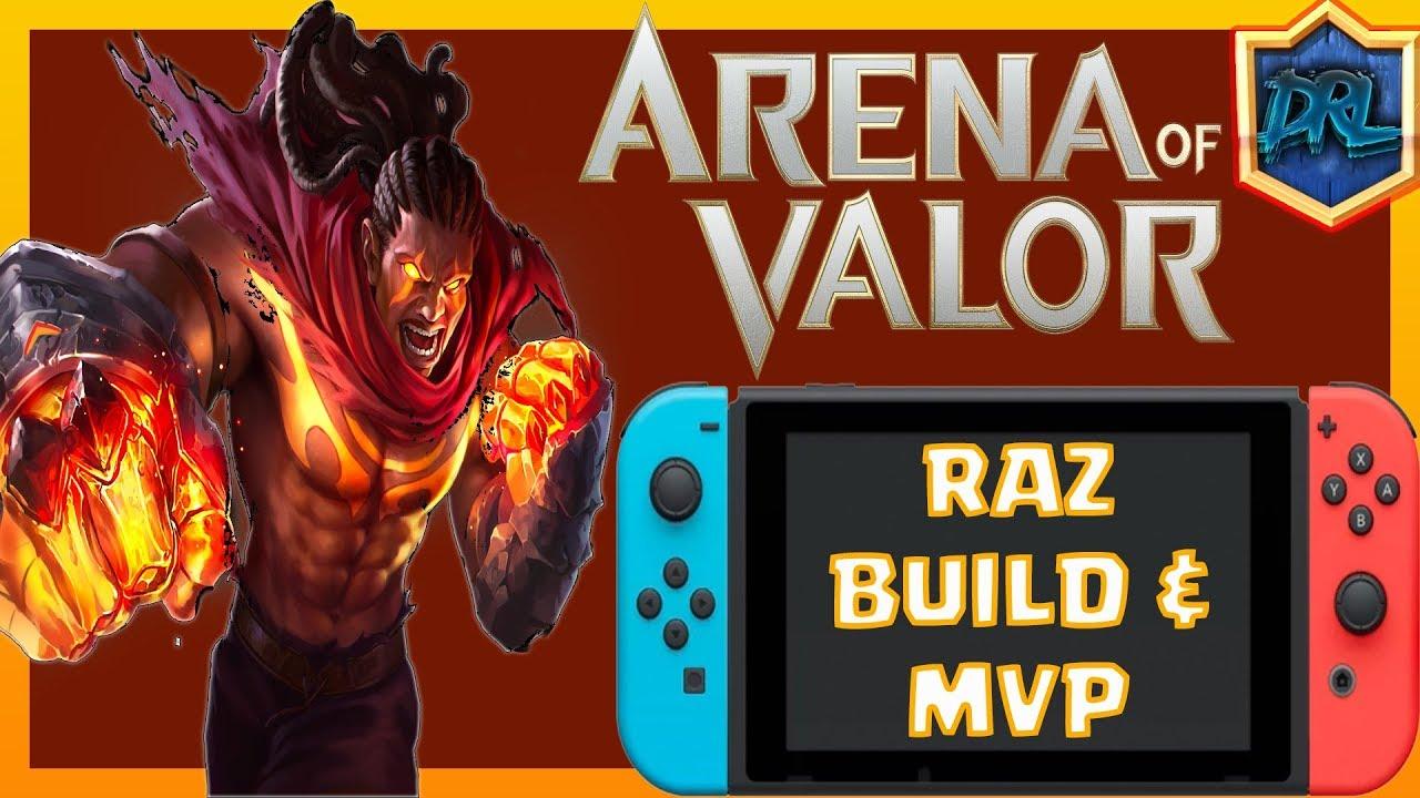 Raz Build Arena Of Valor Damage Survivability Raz Build Raz Mvp  Killstreak Match