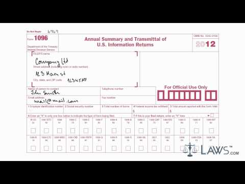 learn-how-to-fill-the-form-1096-annual-summary-and-transmittal-of-u.s.-information-return