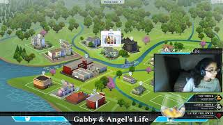 Sims 4 Gameplay // CAS // Sub lots //