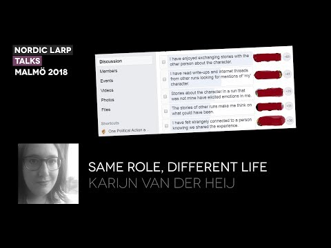 Same Role, Different Life - Karijn van der Heij