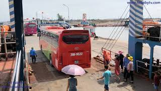 Wheels On The Bus 🚌 Bus Through Cat Ba Ferry Cat Hai Hai Phong Vietnam P1 ❤   HT BabyTV ✔︎