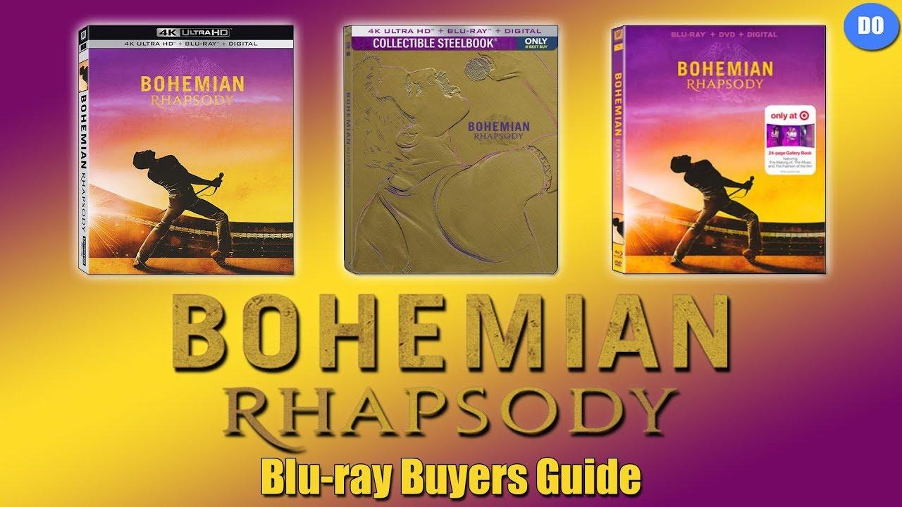 Bohemian Rhapsody Blu Ray Buyers Guide Best Buy 4k Steelbook