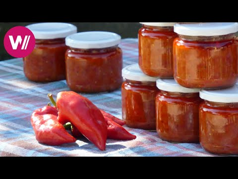 Macedonia - Ajvar: a paprika mousse as national dish | What'