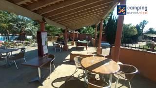 TEASER Kawan Village Le Haras - Palau del Vidre Languedoc Roussillon | Camping Street View