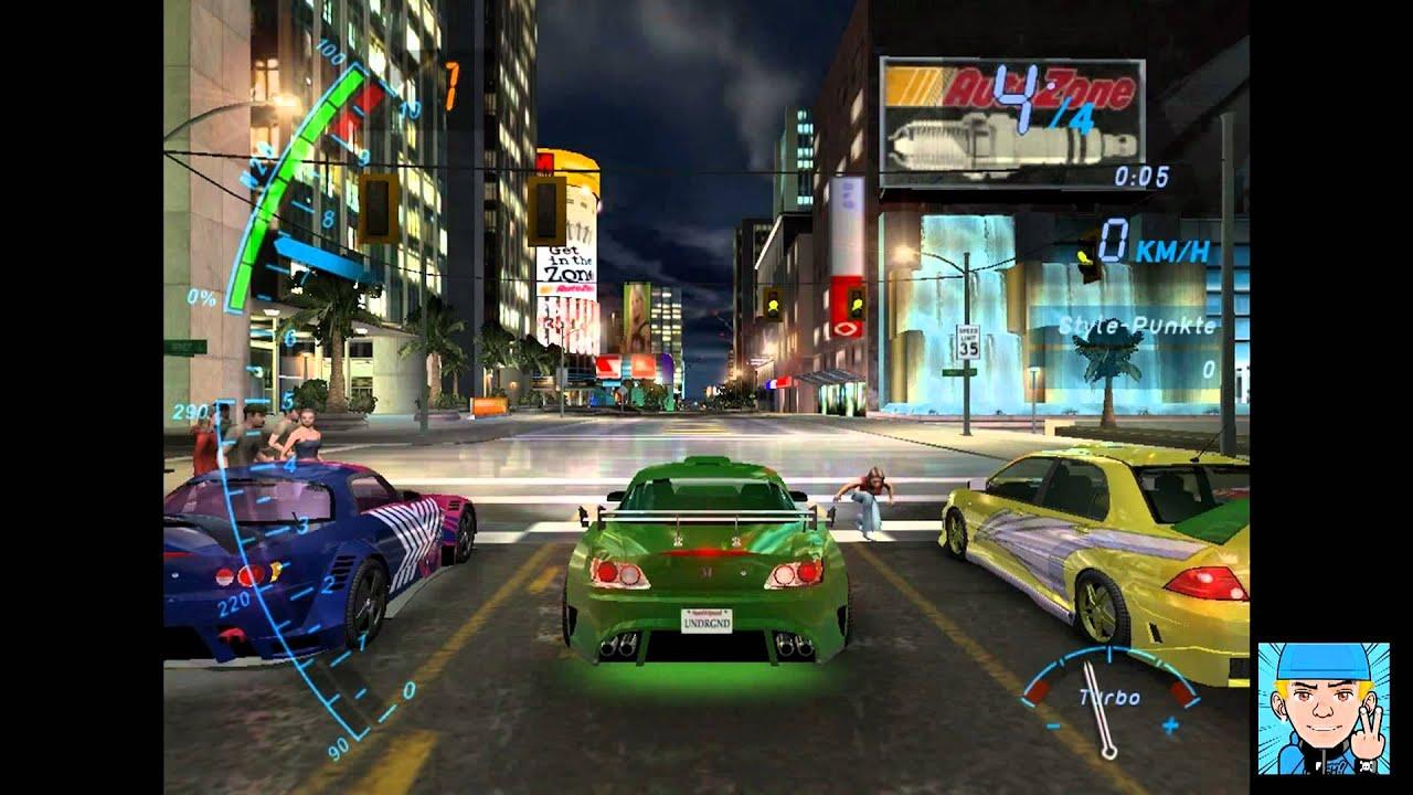 Need For Speed Underground 1 Drag 044 Honda S2000 Youtube
