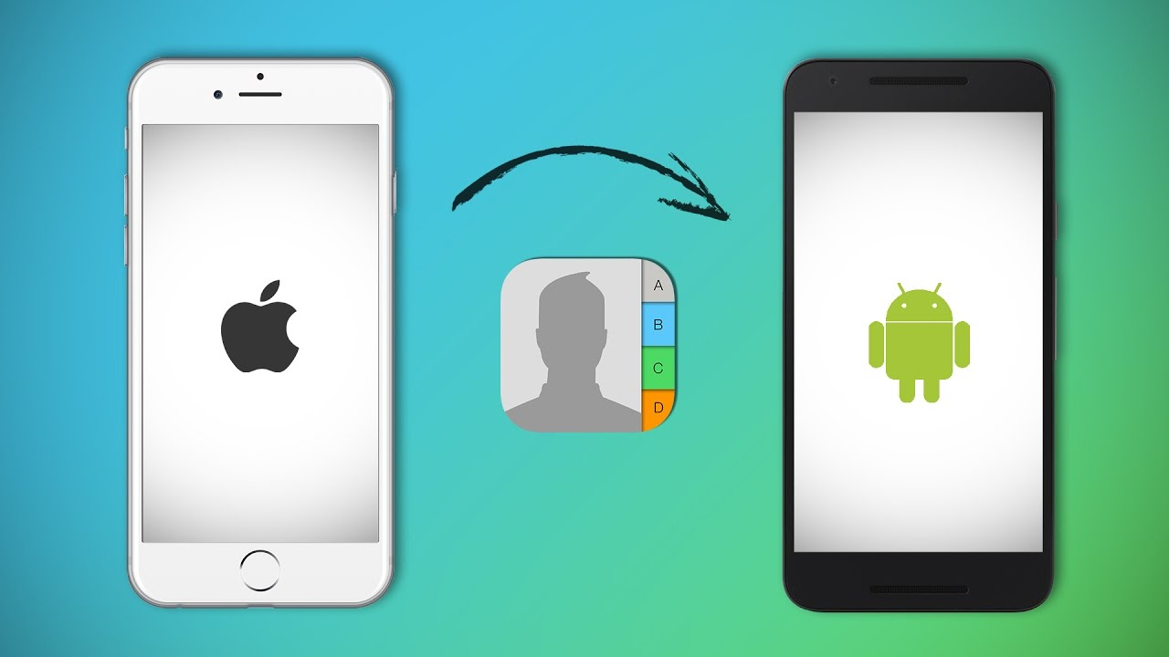 transfer contacts from android to iphone how to transfer contacts from iphone to android 1944