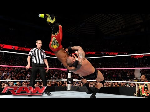 Randy Orton & Dean Ambrose vs. The New Day: Raw, October 12, 2015