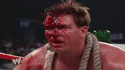 WWE Batista vs JBL Bull Rope Match   SMACKDOWN 2005