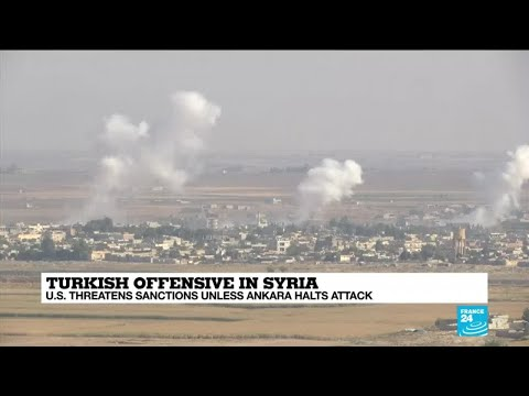 Turkey claims to have captured key Syrian border town