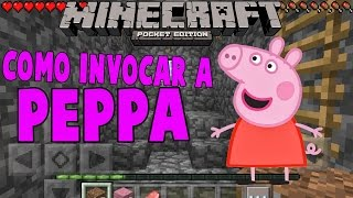COMO INVOCAR A PEPPA EN MINECRAFT PE 1.2 SIN MODS TRUCOS PARA MINECRAFT PE 1.2 (POCKETEDITION)