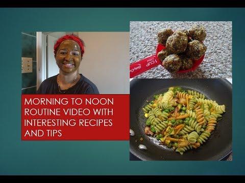morning-to-noon-routine-video-|-pasta-|-herbal-bath-powder-|-momcafe