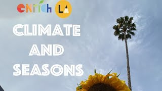 Lesson 3. Climate and Seasons
