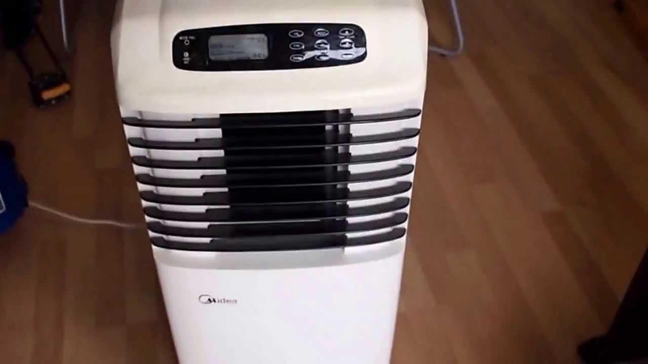 Aire acondicionado port til midea mpa 09cen2 youtube - Humidificador para aire acondicionado ...