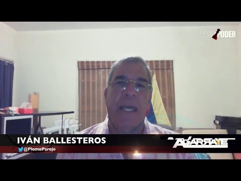 "IVÁN BALLESTEROS: ""MADURO ES EL PERRITO CACRI DE MIRAFLORES"""