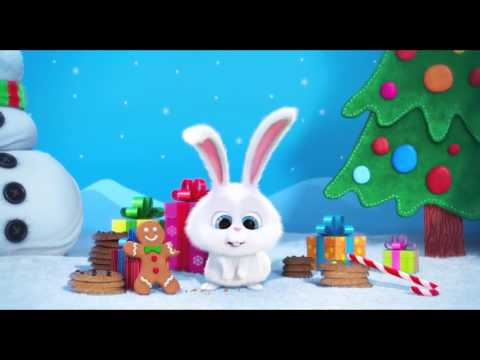 The Secret Life of Pets: Holiday Greetings Trailer - Animation