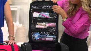 Weekender Bag with Snap-In Toiletry Case by Lori Greiner with Rick Domeier
