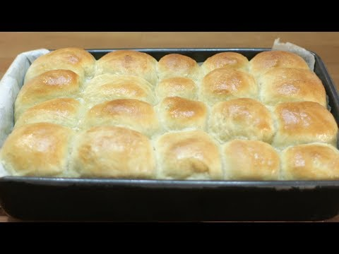 How to make Dinner Rolls - Easy No Knead No Mixer Dinner Rolls Recipe - YouTube