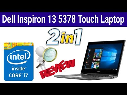 Dell Inspiron 13 5378 2-in-1 Laptop Review | sohail Computers