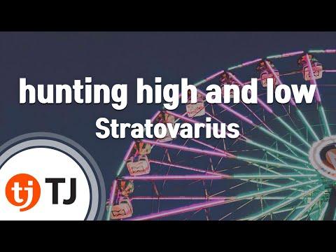 [TJ노래방] hunting high and low - Stratovarius / TJ Karaoke