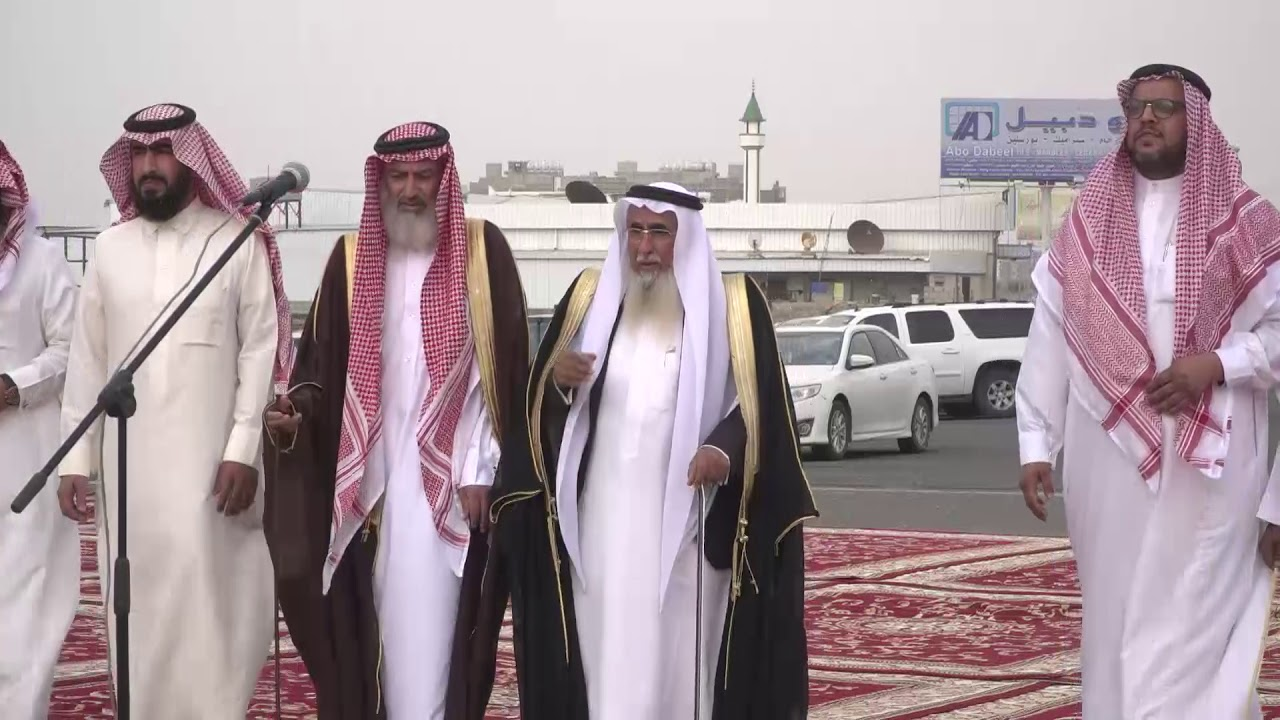 زواج / عبدالله بن هادي القحطاني - YouTube