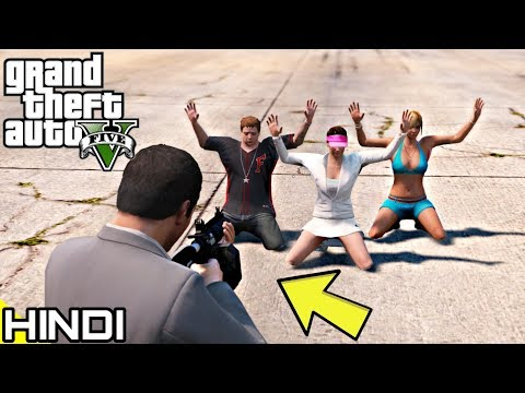 KILLING MICHAEL'S FAMILY In GTA V | KrazY Gamer |