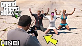 KILLING MICHAEL'S FAMILY in GTA V | KrazY Gamer |
