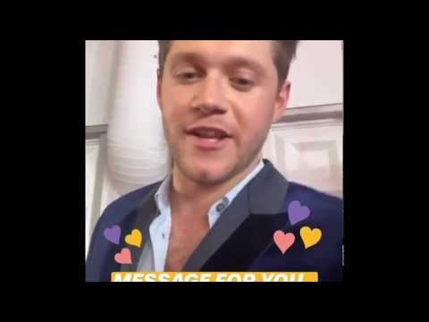 NIALL HORAN BRITS 2020 INTERVIEW