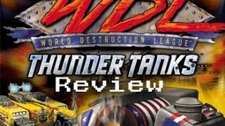 World Destruction Leauge : Thunder Tanks Review (PS2)
