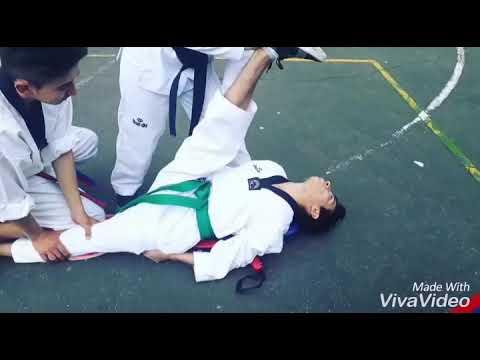 Flexibilidad #Taekwondo (Andrés Esquivel)