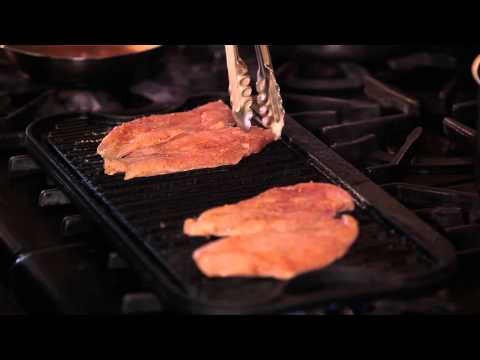 How To Grill Chicken Breasts With Chef Eric Crowley -Chef Eric's Culinary Classroom, Los Angeles, CA