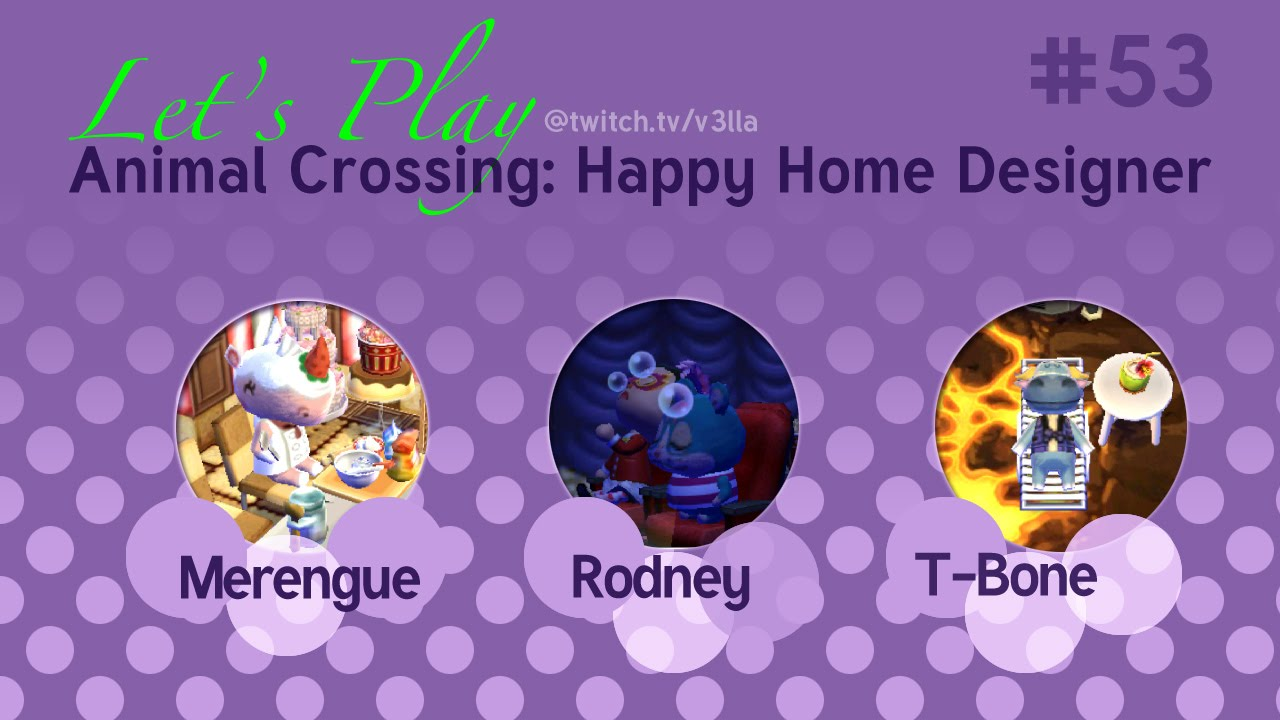 Animal Crossing Happy Home Designer Let 39 S Play 53 Youtube